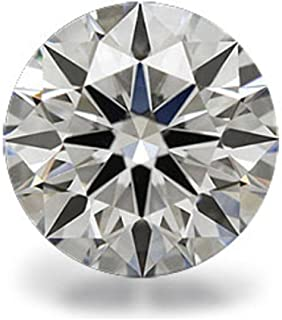 Venetia Top Grade Realistic Hearts and Arrows Cut Round Loose NSCD Simulated Diamond 1 2 3 4 Carats Different Sizes Super ...
