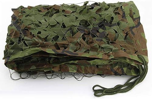 Filet de camouflage parasol multi-usage Jungle Mode Camouflage Net Camouflage Extérieur Filet Camping Camping Camouflage Net Multi-taille En Option (Taille  3  3m) Bache AI LI WEI (Taille   4  8m)