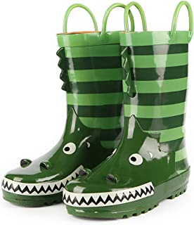 girls dinosaur rain boots