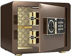 JJYPY All-Steel Anti-Theft Safe, Password Fingerprint Safe,Electronic Fingerprint Fire Lock Fireproof Digital Home Combina...