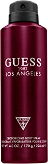 GUESS 1981 Los Angeles Body Spray for Men - Pack of 1
