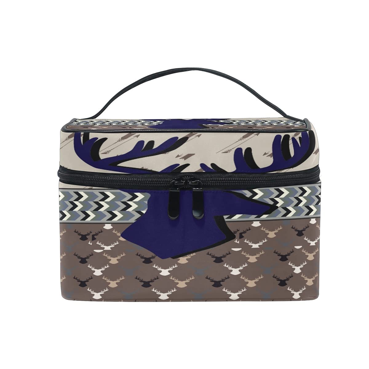 Deer Super sale period limited Cosmetic Bag Travel security Makeup Storage Organizer Cases Train