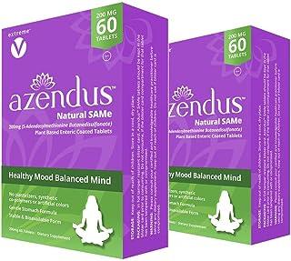 Sponsored Ad - Azendus Mood 200mg of S-Adendosylmethionine Butanedisulfonate (Same) (2 Boxes - 120 Enteric Coated Tablets)...