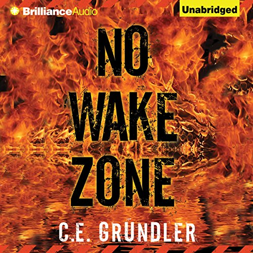 No Wake Zone audiobook cover art