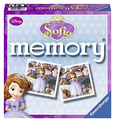 Ravensburger - 22276 - Jeu D'exploration - Grand Memory - Disney Princesse Sofia