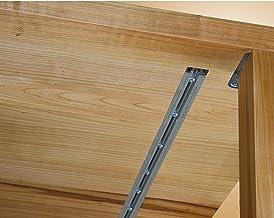 Gedotec Graamlijst voor massieve tafelbladen uitlijning beslag met stalen inzetstuk voor uittrektafels | Lengte: 2500 mm |...