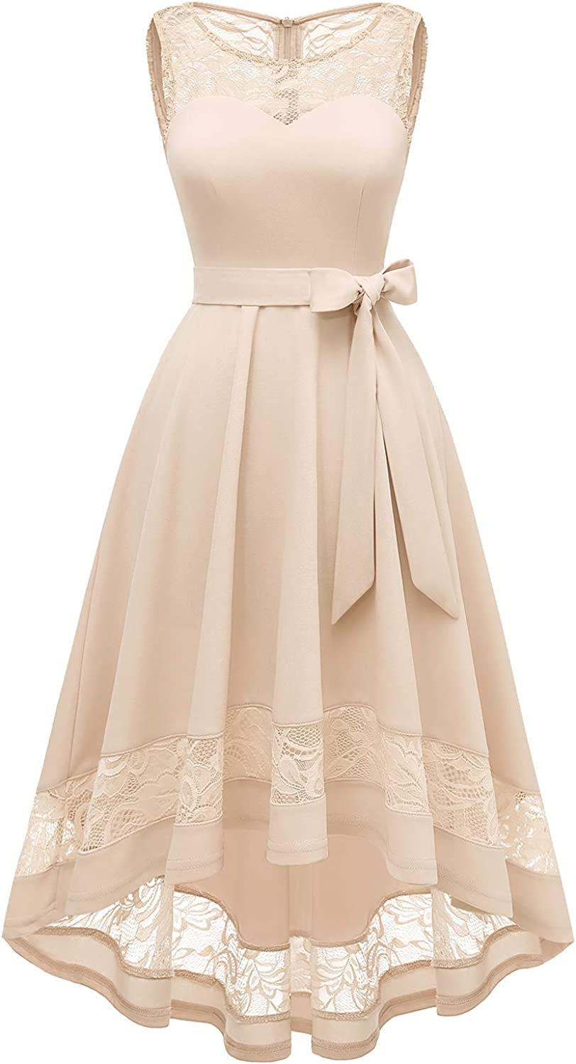 Gardenwed Women's Vintage Floral Lace Cocktail Oakland Mall Sw Dresses Formal Recommended