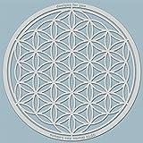 Schablone – Blume des Lebens, 0510, L, XL, XXL, Silhouette, Malerschablone, Wandgestaltung, Textilgestaltung