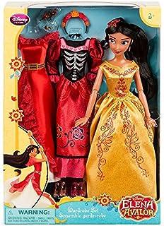 アバローのプリンセス エレナ 着せ替え人形 ドレス3種セット 【USディズニーストア】並行輸入品