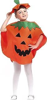 Halloween Pumpkin Costume Set for Family Parent Kids Orange Cosplay Suit Hat School Party Children Clothing Clothes
