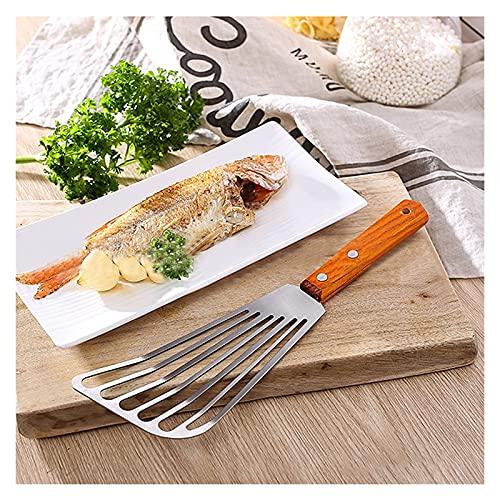 YFJCL Steak de Acero Inoxidable STARCHED SHOCHOVEL FILDS SPATAULA MULTIVENTE Acero Inoxidable DE Cocina DE Cocina DE Cocina DE Cocina para cocinar, Mezclar y Hornear (Color : 1pcs)