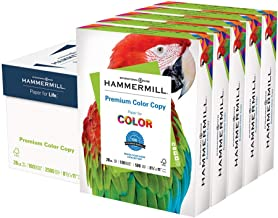 product image for Hammermill Printer Paper, Premium Color 28 lb Copy Paper, 8.5 x 11 - 5 Ream (2,500 Sheets) - 100 Bright, Made in the USA