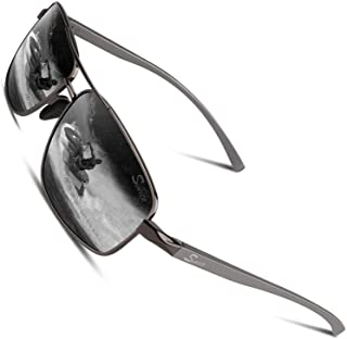 Sponsored Ad - Polarized Sunglasses for Men,2021 Ultra Lightweight UV400 Driving Fishing Sport Shades