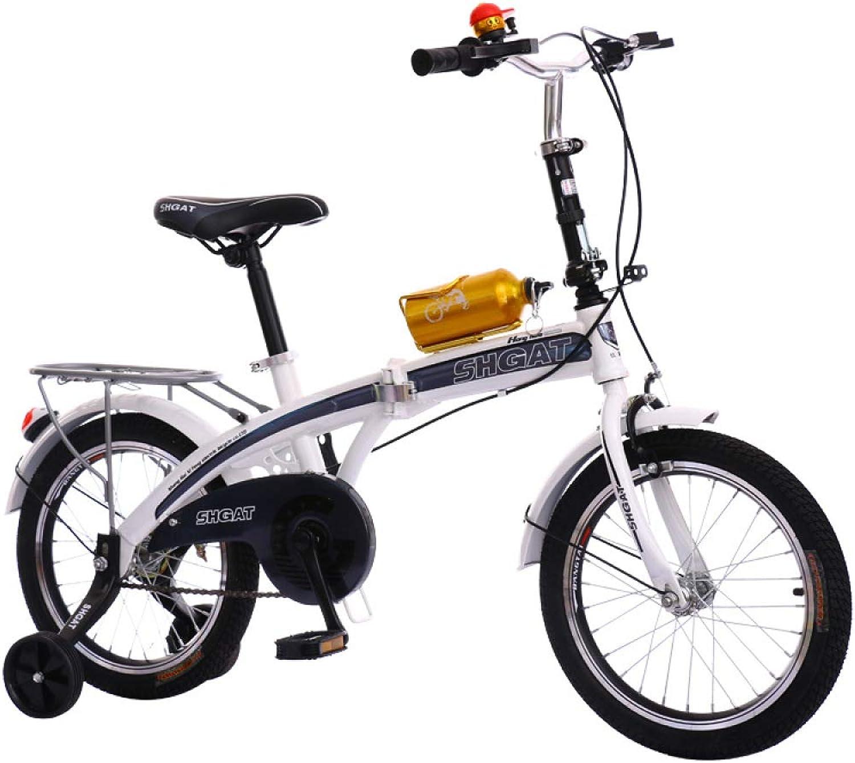 ventas en linea WY-Tong Bicicleta Bicicleta Bicicleta Infantil Bicicletas Infantiles Niño y niña Coche luz Bicicleta de Montaña Niño Bicicleta Plegable  la mejor selección de