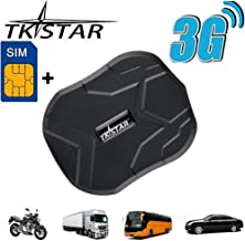 TKSTAR GPS Tracker,3G Real Time Tracking Car GPS Tracker for Vehiches, Waterproof Strong Magnet Tracking device Anti-Lost for Car Motorcycle Truck Alarm TK905(Free SIM).