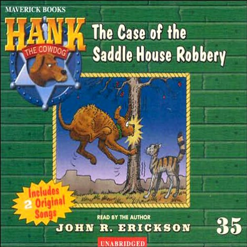 The Case of the Saddle House Robbery audiobook cover art