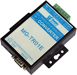 JQKJ RS232/485/422 Serial Port Modbus Protocol Converter Gateway RTU to TCP Support Multi-Host