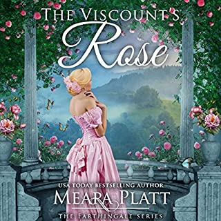 The Viscount's Rose audiobook cover art