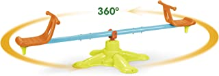 ECR4Kids Spinner Seesaw - Swivel 360 Degree Spinning Teeter-Totter for Kids - Active Play Fun for Backyard or Playground