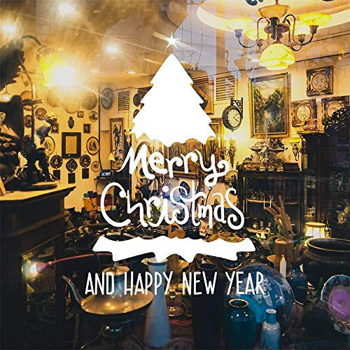 wandaufkleber Haushalt wandaufkleber vinyl fenster dekoration abnehmbare wandtattoo Weihnachtsge schenk
