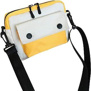 Fanspack Womens Shoulder Bag Satchel Bag Creative Cute Mix Color Canvas Crossbody Bag