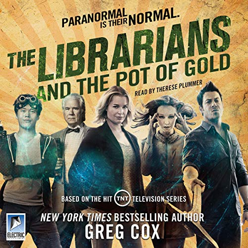 The Librarians and the Pot of Gold audiobook cover art