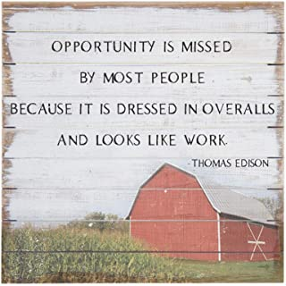 thomas edison quote overalls