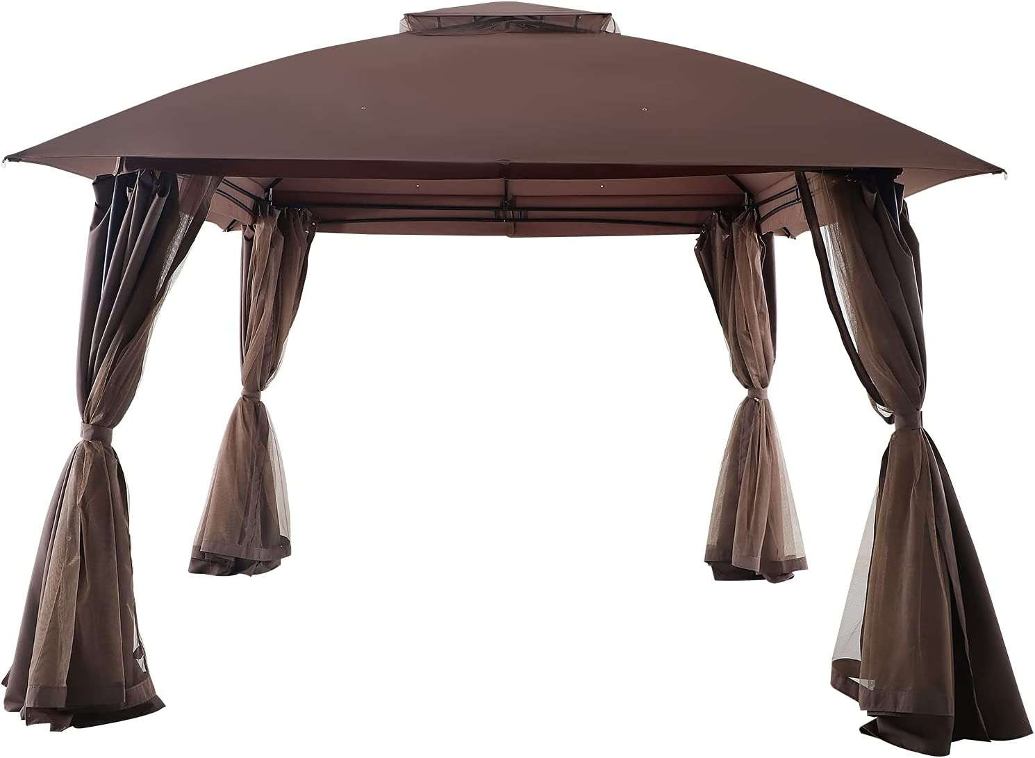 SUNSPEAR Gazebos Ultra-Cheap Deals for Patios 11' x M Gazebo Roof with Double OFFicial