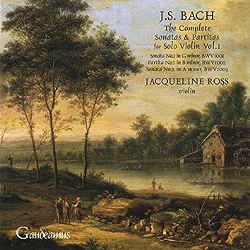 Bach: Sonatas for Solo Violin, Nos. 1 - 2; Partita No. 1