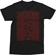 Joy Division - Red Unknown Pleasures Cult Music T-Shirt
