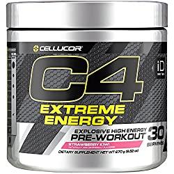 Cellucor C4 Extreme Energy Pre Workout Powder Energy Drink with Caffeine, Creatine, Nitric Oxide & B