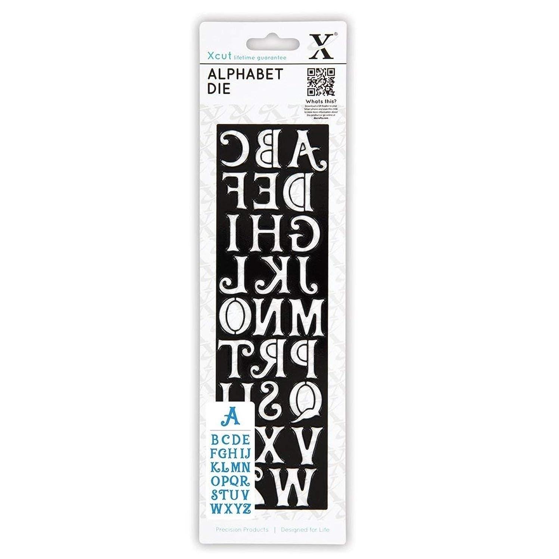 docrafts Xcut Alphabet Die, Alice, 2.5 by 8.5-Inch