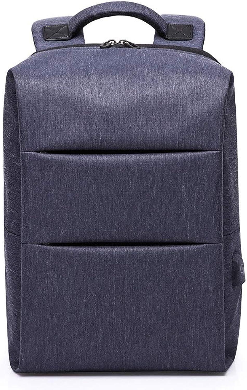 Reise Laptop Rucksack, Gro Hochschule Schule Tasche Zum Herren Und Frau Mit USB Aufladung Hafen Tagesrucksack (Farbe   Blau)