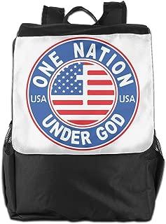 XIVEIER Customized America One Nation Under God New Travel Backpack For Mans