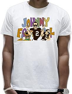 Footbal Cartoon Men's Coll Fashion O-Neck T Shirts