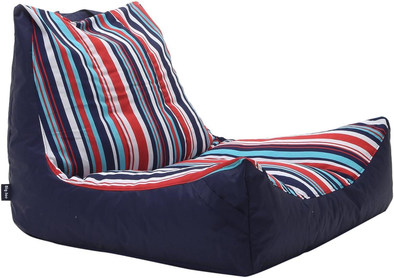 Big Joe Captain's Float Fiesta Cozumel Stripe Bean Bag, Multicolor