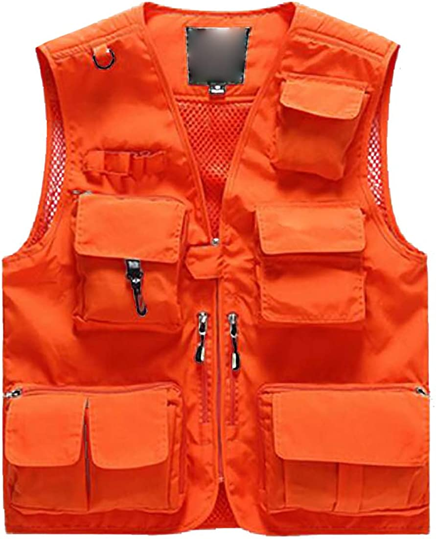 Tucson Mall Fulision Translated Men Lightweight Photography Pocket P Multiple Vest with