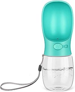 Dog Water Bottle for Walking, Dispenser Pet Portable Dogs Cats 12OZ 19OZ Travel Drink Bottle Bowls BPA Freee,Leak Proof,Fo...