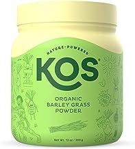 Sponsored Ad - KOS Organic Barley Grass Powder - Rich in Fiber, Antioxidants, Chlorophyll, Digestive Enzymes & Protein - N...