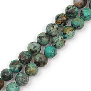 Natural African Turquoise,Smooth Pear Gemstone Beads 6x10-10x15 mm Approx Graduation African Turquoise Pear Shape Beads 4.5/'/'Full Strand