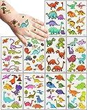 20 Hojas De Tatuajes Temporales NiñOs, TemáTica Dinosaurio Tatoos Infantiles Impermeable Respetuoso Con La Piel,Tatuajes NiñOs Regalos De CumpleañOs Para NiñOs, Festivales, Suministros Para Fiestas