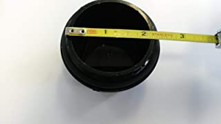 TIEDOWN Vortex Trailer Hub Replacement Cap w/O-Ring, 5 Lug Axle Dust Grease Cap
