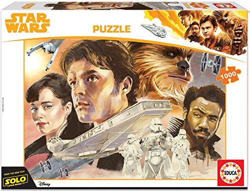 Educa Borrás- Star Wars Puzle 1000 Han Solo, Multicolor (17682)