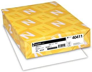 Neenah Exact Index, 110 lb, 8.5 x 11 Inches, 250 Sheets,...