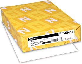 Neenah Exact Index, 110 lb, 8.5 x 11 Inches, 250 Sheets, White, 94 Brightness