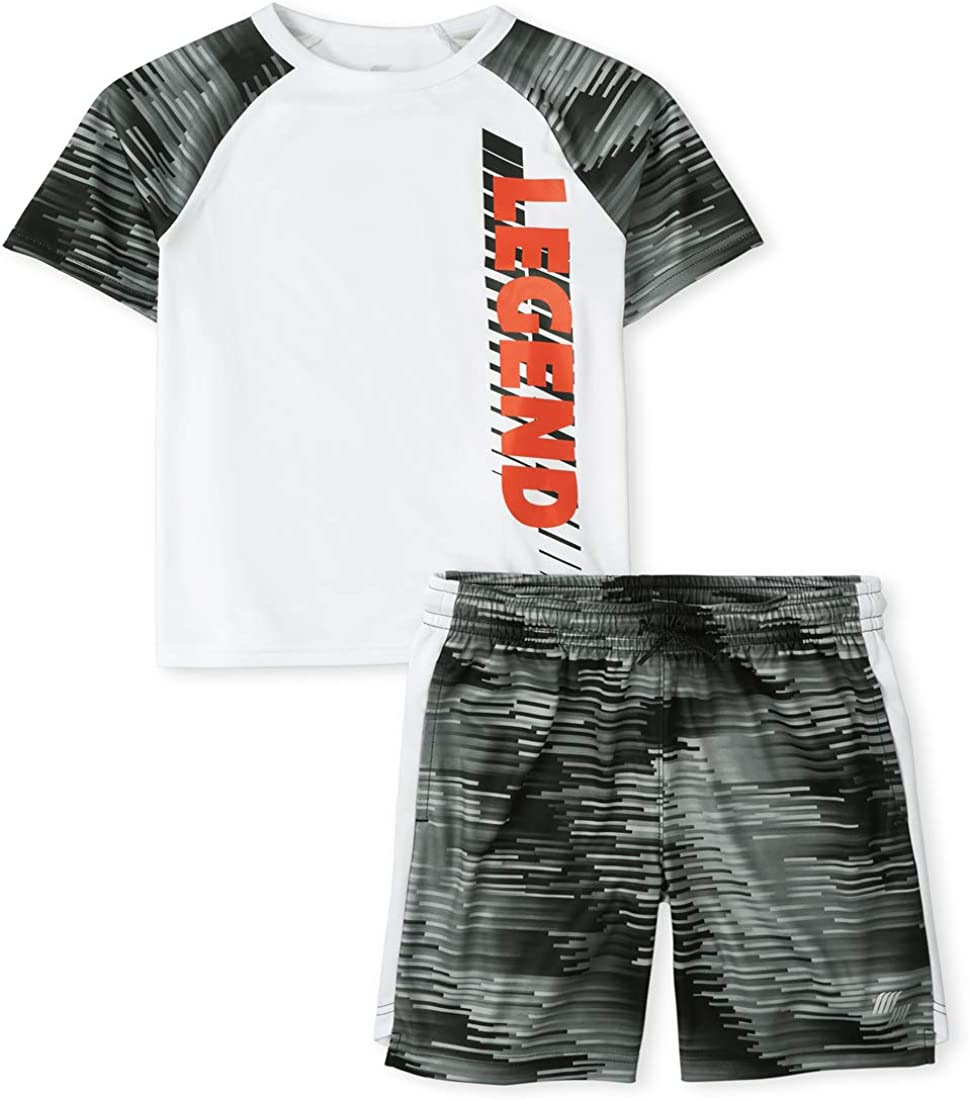 The Children's Place Baby Boys' Active Shorts Set
