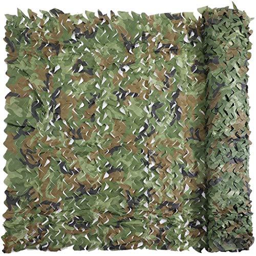 LiUPENGWEI Camo Netting groot rol camouflagennet militaire netten licht duurzaam zonder rooster voor zonwering decoratie jacht blinde schieten camo schaduwnet