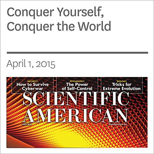 Conquer Yourself, Conquer the World audiobook cover art