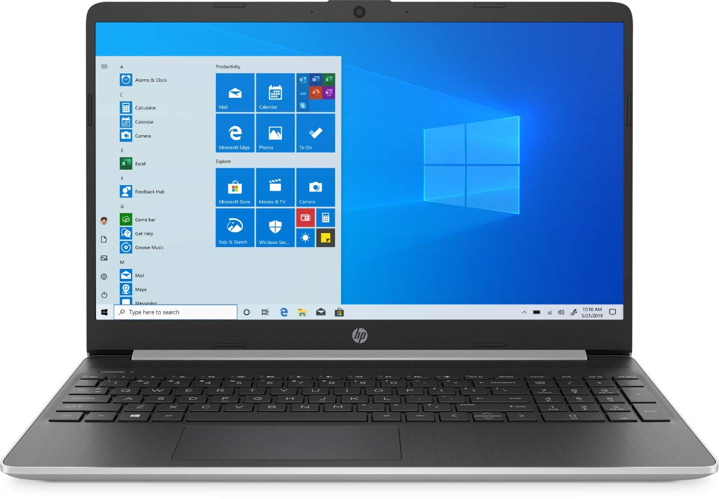 "2020 HP 15.6"" Touchscreen Laptop Compute- Buy Online in Cayman"
