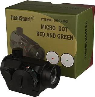 FSI Red Green Micro Dot Sight 5 Brightness Levels